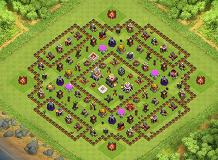 Bunso TH 11 Clash of Clans Base Layout