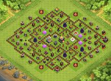 Mach801 TH 11 Clash of Clans Base Layout