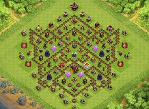 Mohsen TH 10 Clash of Clans Base Layout