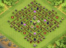Not Chief Pat TH 11 Clash of Clans Base Layout