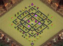 fal TH 8 Clash of Clans Base Layout