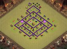 TH7 TH 7 Clash of Clans Base Layout