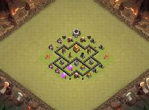 supercool TH 4 Clash of Clans Base Layout