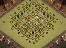 cv 11 TH 11 Clash of Clans Base Layout