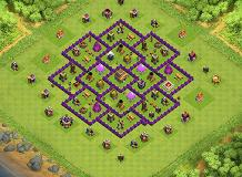 suresh base TH 8 Clash of Clans Base Layout