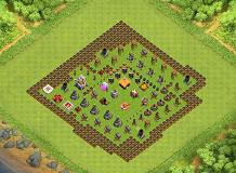 Jeff TH 1 Clash of Clans Base Layout