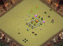 Impossible wallbreaker TH 3 Clash of Clans Base Layout