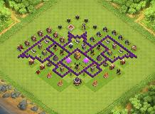 TH7 Farming Base Layouts - Top 1000 | Clash of Clans Tools