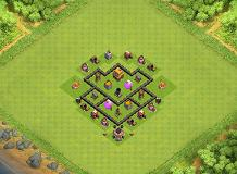 Anant TH 4 Clash of Clans Base Layout