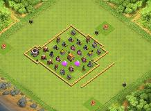 Goodx yz TH 5 Clash of Clans Base Layout