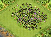 takie tam TH 8 Clash of Clans Base Layout
