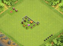 town hall 2 TH 2 Clash of Clans Base Layout