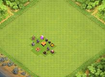 cv1 layout TH 1 Clash of Clans Base Layout