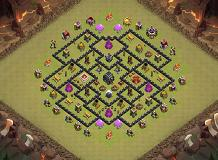 TT TH9 Base TH 9 Clash of Clans Base Layout