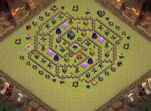 irwans TH 9 Clash of Clans Base Layout
