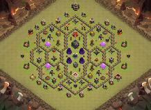 ab1 TH 9 Clash of Clans Base Layout