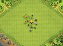 TH1 Base Layout TH 1 Clash of Clans Base Layout