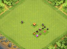 jojo TH 1 Clash of Clans Base Layout