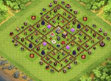 11s TH 11 Clash of Clans Base Layout