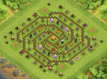 see it TH 1 Clash of Clans Base Layout