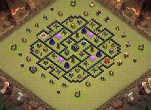 yusril anjjapue TH 9 Clash of Clans Base Layout