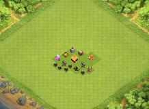 Town Hall TH 1 Clash of Clans Base Layout