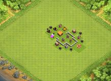 TH2 TH 2 Clash of Clans Base Layout