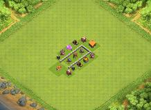 'Clash of Clans' Builder: Best Town Hall 2 Layouts - Heavy.com TH 2 Clash of Clans Base Layout