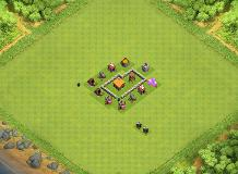 Saved TH 2 Clash of Clans Base Layout