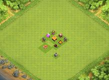 TH 1 TH 1 Clash of Clans Base Layout