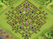 My TH 11 Clash of Clans Base Layout