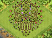 My Rio a gen TH 10 Clash of Clans Base Layout