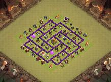 je TH 7 Clash of Clans Base Layout