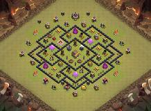 Yyy TH 8 Clash of Clans Base Layout