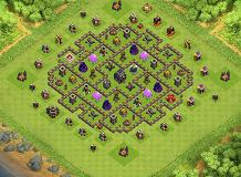 Jeoffrey TH 9 Clash of Clans Base Layout