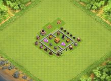 m TH 3 Clash of Clans Base Layout