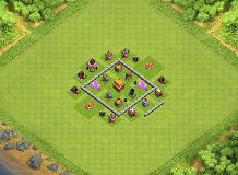 The Mk TH 3 Clash of Clans Base Layout