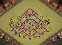 My Friends Base :3 TH 8 Clash of Clans Base Layout