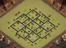 Layout TH 8 Clash of Clans Base Layout