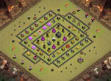 cheeth9final TH 9 Clash of Clans Base Layout