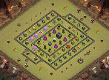 th9final-chee TH 9 Clash of Clans Base Layout