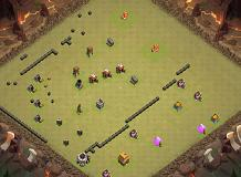 Te TH 4 Clash of Clans Base Layout