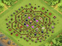 angel TH 11 Clash of Clans Base Layout