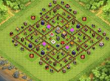 bffg TH 11 Clash of Clans Base Layout