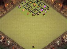 Deevion TH 4 Clash of Clans Base Layout