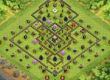 GOOD BASE TH 11 Clash of Clans Base Layout