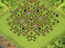 Parkers base TH 11 Clash of Clans Base Layout