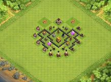 TWH 4 =) TH 4 Clash of Clans Base Layout