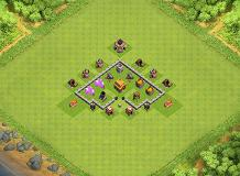TWH 3 TH 3 Clash of Clans Base Layout