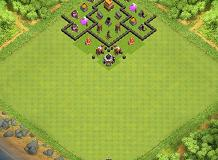 Layout 4 TH 4 Clash of Clans Base Layout